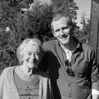 Skuespillerne Inger Teien og Martin Karelius Østensen