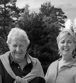 Skuespillerne Ivar Nørve og Marit Adeleide Andreassen